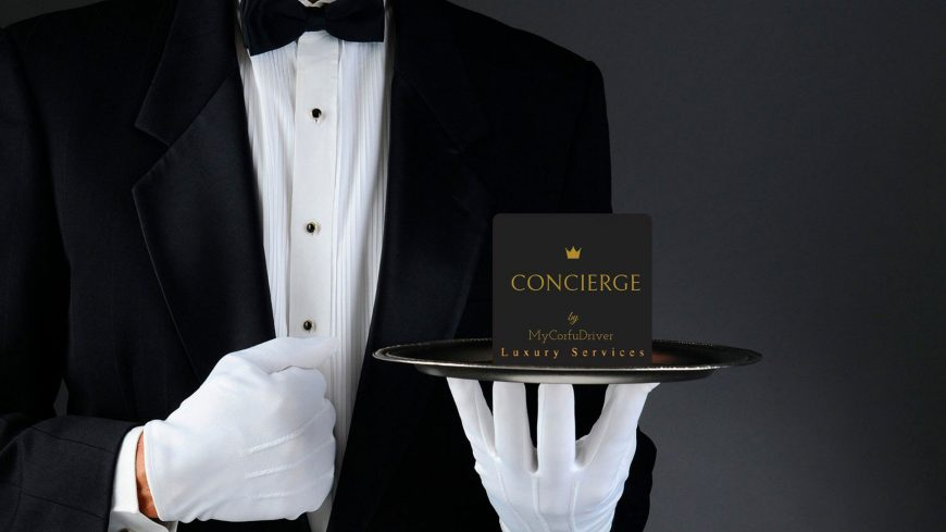 concierge services in corfu